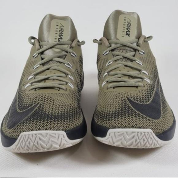 c986341ba64a4a Nike Air Max Infuriate Low Green Sneakers